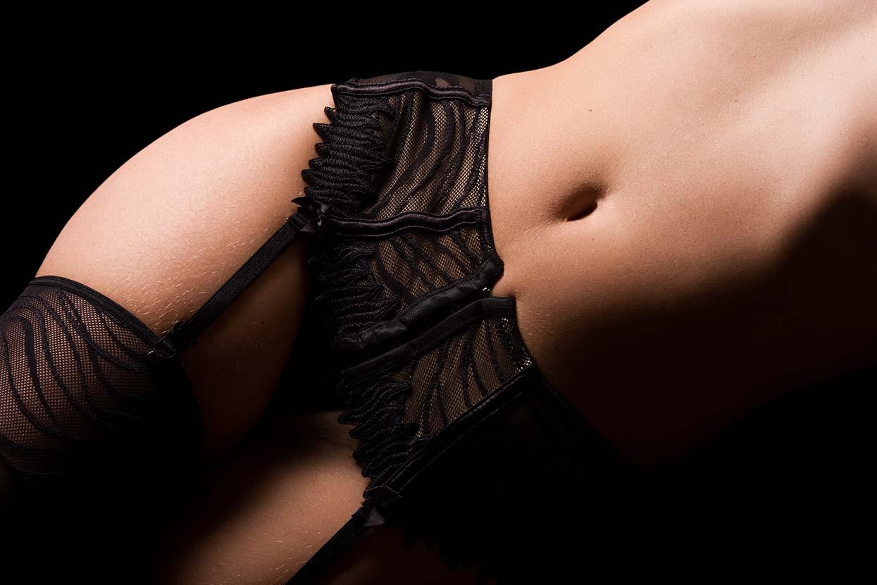 ensaio de lingerie