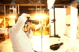 Making of ensaio fotográfico