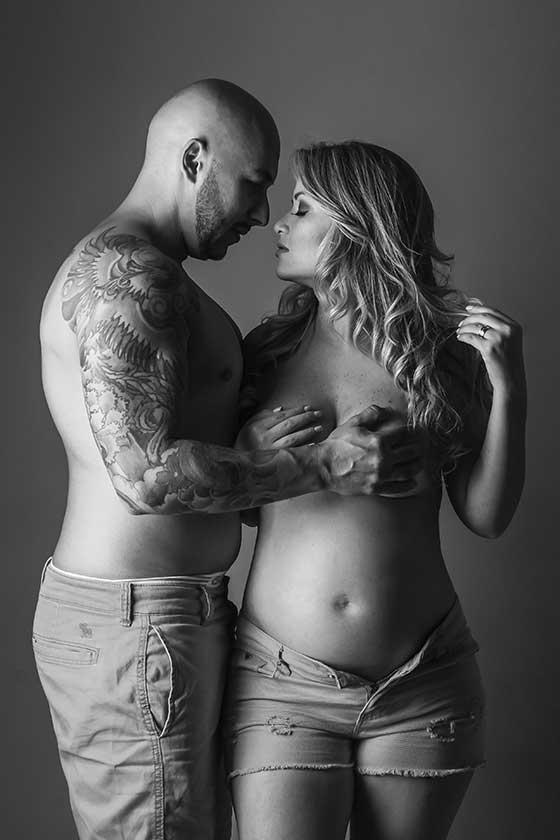 ensaio gestante sensual com marido