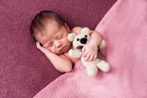 Ensaio newborn em estudio SP