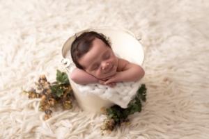 Ensaio de newborn estúdio SP