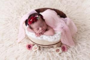 Ensaio newborn capa mobile